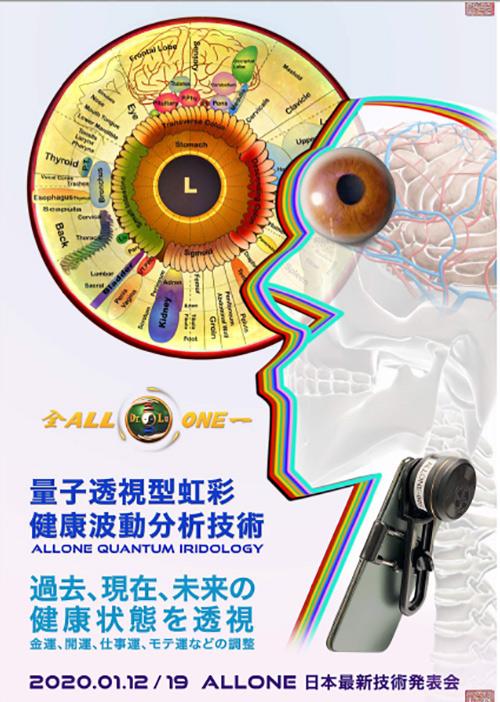 量子透視型虹彩健康分析技術